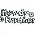 Howdy Pardner Word Art