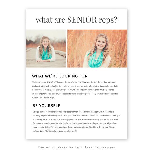 Recruit Senior Rep Magazine |
