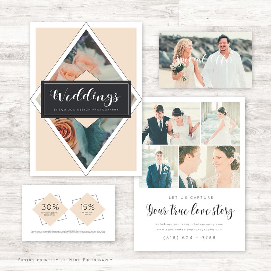 Home Marketing Tools Sets Blush Wedding Photography Set