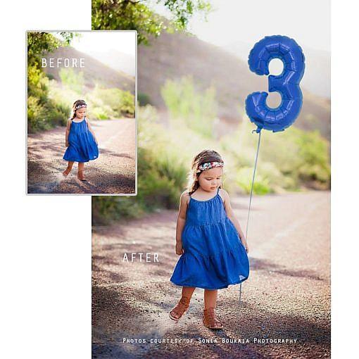 number balloon overlays