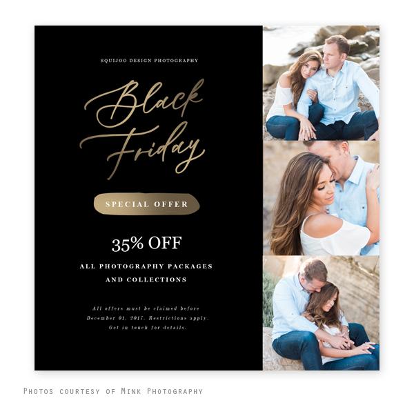 Black Friday Marketing Board Gold Squijoo Com