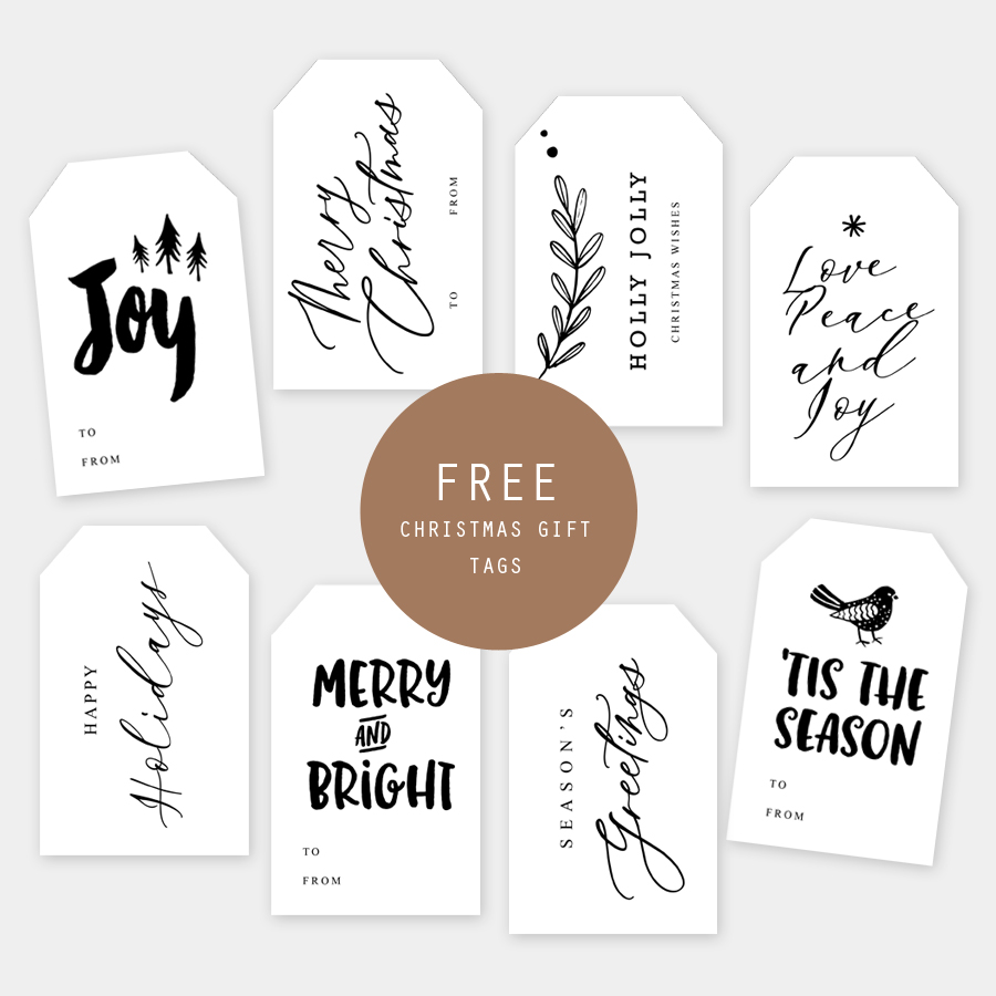 photo regarding Printable Holiday Gift Tags titled Free of charge Printable Xmas Present Tags